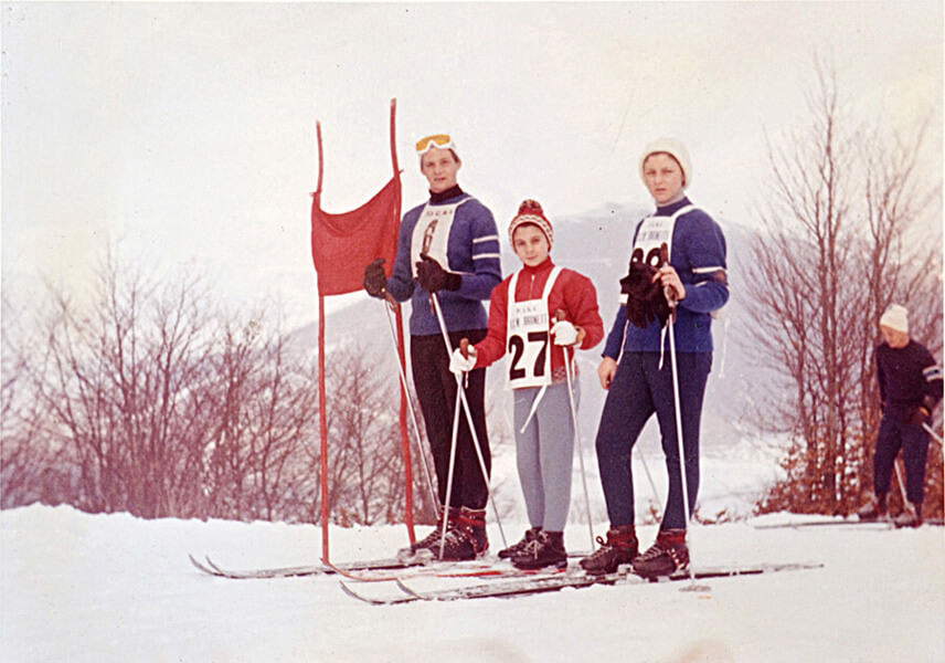 1962 Forche Canepine, Coppa Lupparelli. Stefano, Roberta, Michaela Gargiullo
