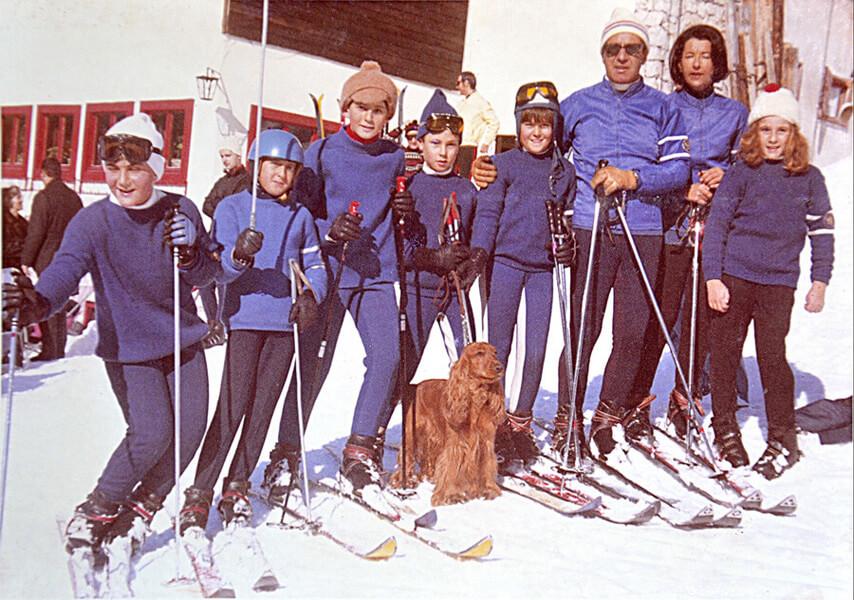 1967 Alberto e Pupa Ardini e truppa ragazzini sai