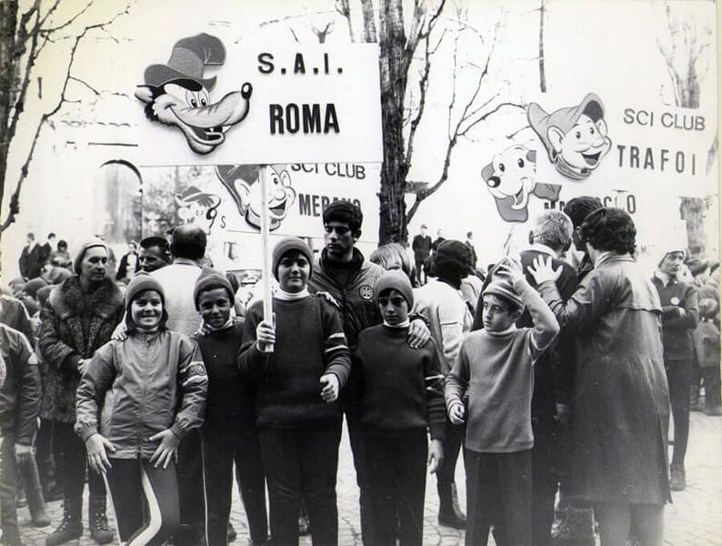 Squadra SAI Roma trofeo Topolino